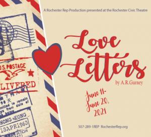 """""""Love Letters"""" @ Rochester Civic Theatre"""